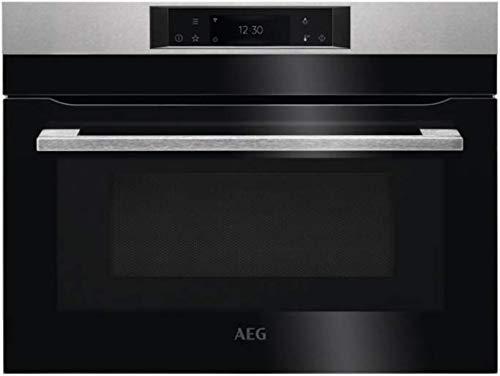 AEG KMK765080M Einbau-Backofen Combiquick mit integrierter Mikrowelle und Connectivity 45cm