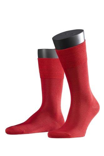 FALKE 2 Paar Tiago Socken (43-44, scarlet rot)