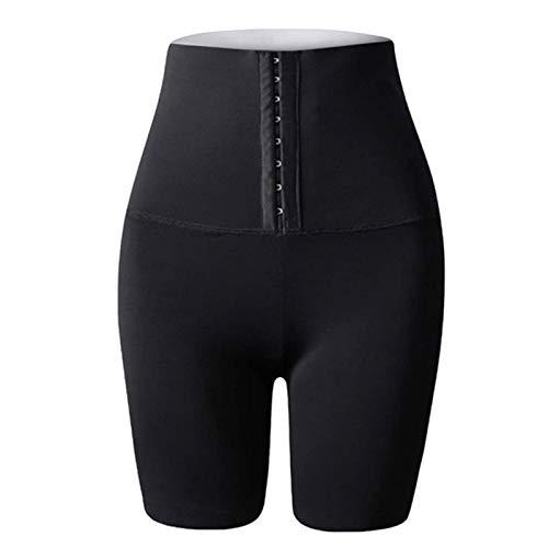 The Sweat Shorts, Shapewear Shorts Shorts de Cintura Alta Mujeres Shorts de Cintura Alta para Pérdida de Peso Pantalones de Sauna (Color : Three-Quarter Pants, Size : L)