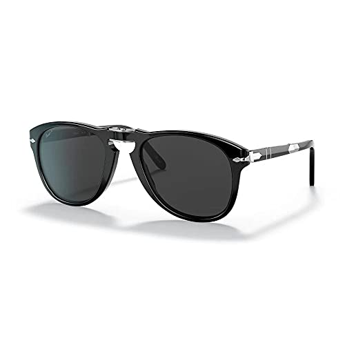 Persol Gafas de Sol STEVE MCQUEEN LIMITED EDITION PO 0714SM Black/Grey 54/21/140 unisex