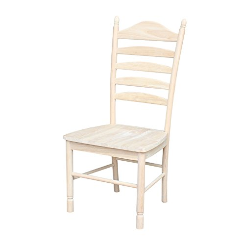 International Concepts Bedford Ladderback Chairs, Set of 2