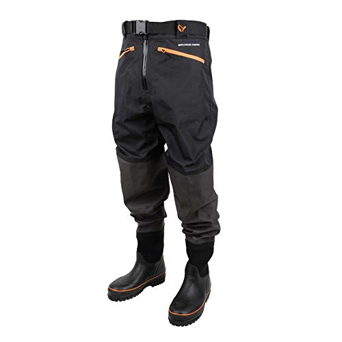 Savage Gear Breathable Waist Wader Boot Foot Cleated 40/41 - 6/7 Wathose