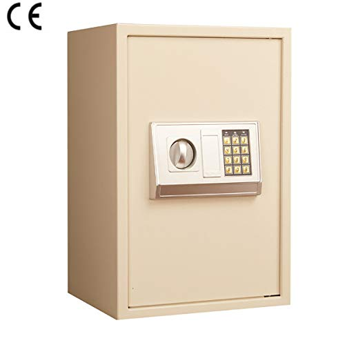 MIAOBX Kleines Heimbüro Hotel elektronisches Passwort sicher 2 Arten von Öffnungsmethoden - Alarmanlage - Tresore
