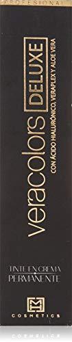 MH Cosmetics VeraColors Deluxe Tinte Capilar Premium Vegano 5/76 Castaño Claro Tierra Rojo 60 ml