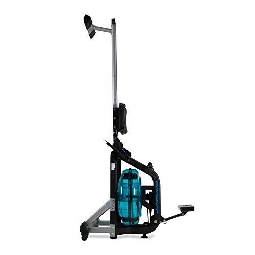 BH Fitness Cardiff R370 – Wasserrudergerät – Rudergerät – 6 Wiederstandsstufen – Einstellbare Pedale – LCD Monitor - 2
