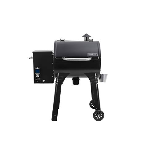 Camp Chef PG24XT Smoke Pro Pellet BBQ with Digital Controls and Stainless Temp Probe Smoker Grill, Black