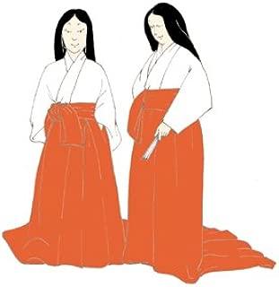 Heian Japanese Woman's Underwear (Kosode and Hakama) Pattern