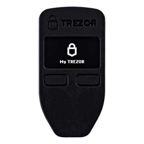 Trezor One + Billfodl - Cryptocurrency Hardware Wallet with Steel Wallet Cold Seed Storage (2 Items)