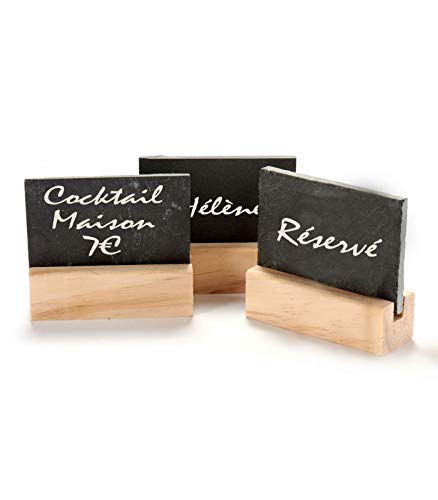 Pintxos - 12 mini pizarras para precios alimentarios - Fiestas - Buffet...