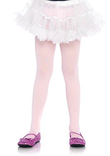 LEG AVENUE 4646 - Schlichte Strumpfhose, Größe: 7-10, rosa