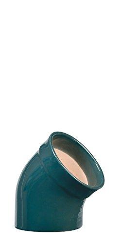 Emile Henry Eh970201 Main à Sel Céramique Bleu Feu Doux 10 X 10 X 13,5 cm