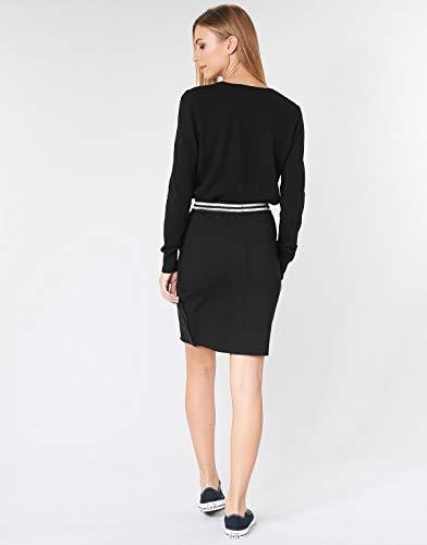 Desigual Skirt Craig Falda, Negro (Negro 2000), X-Large para Mujer