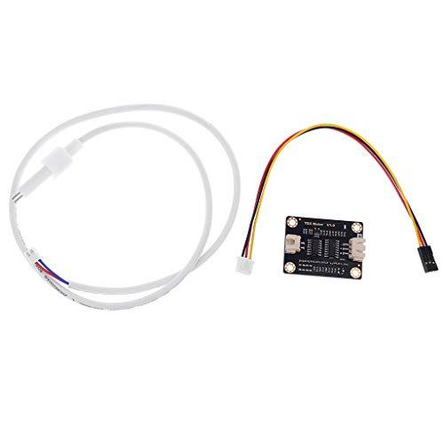 Sensor analógico TDS Sensor de conductividad de agua para detección de líquidos Módulo de monitoreo de calidad de agua DIY TDS Monitor en línea