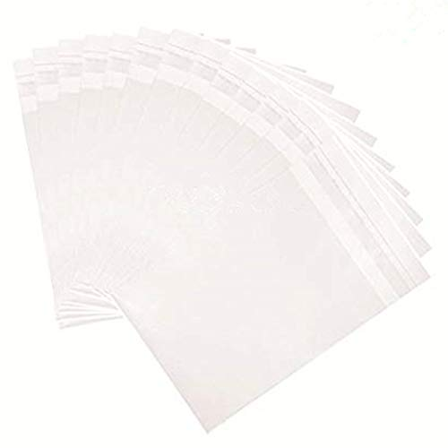 4 x 5-inch Crystal Clear Resealable Cello Cellophane Bags for Candy Cookies Cards Gifts Crafts, Pack of 100