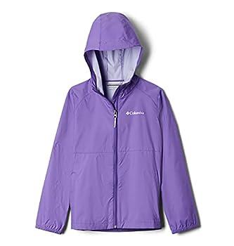 Columbia Girls  Big Switchback Ii Waterproof Jacket Grape Gum Medium