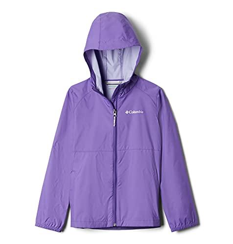 Columbia Girls' Little Switchback II Waterproof Jacket, Grape Gum, X-Small