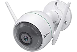 EZVIZ by Hikvision C3WN 1080p Full HD Wi-Fi Outdoor IP66 Camera with Motion Alert and Night Vision| 256 GB microSD Card Slot|,Hangzou Hikvision technology company ltd,CS-CV310-A0-1C2WFR(4mm)(O-STD)