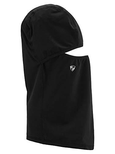 Ziener Erwachsene ILKER Box underhelmet mask Gesichtsmaske/Skihelm, Wintersport, Black, L