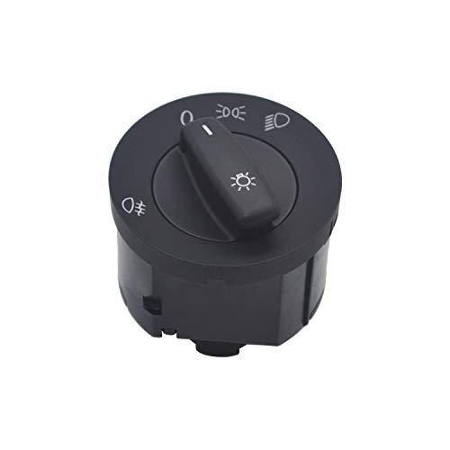 ZEALfix Lichtschalter Nebelscheinwerfer Schalter Scheinwerfer 1K0941431B Für Golf 5 6 Jetta 5 6 Tiguan Caddy Passat B6 Cc