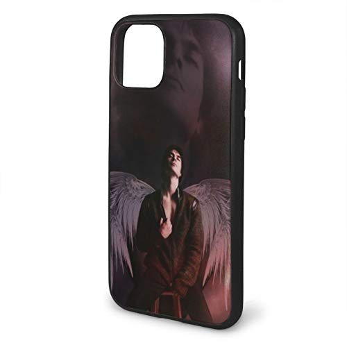 Houte Vampire Diaries Eyes Draw Supernatural Drama Compatible with iPhone 11 12 PRO Max XR XS Max 6/7/8 Plus SE 2020 Case TPU Fall Protection Black Phone Cases Cover