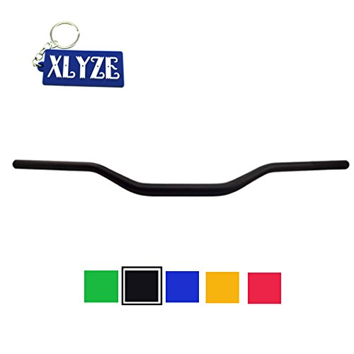 "XLYZE 1 1/8"" 28mm aleación manillar barra de grasa negro para chino Pit Dirt Bike Mini Motocross MX Motard ATV Quad motocicleta"