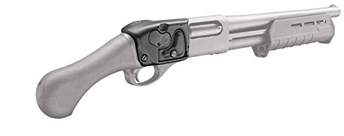 Crimson Trace LS-870 Shotgun Lasersaddle with Ambidextrous Control, Easy Adjustments and Quick Installation for Laser Sighting, Shooting, Competition and Range , Black