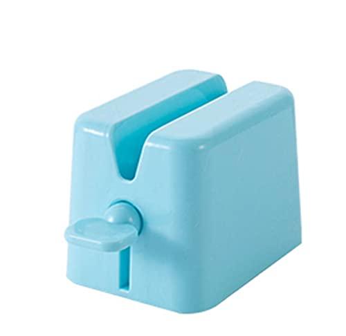 Exprimidor de Pasta de Dientes - Exprimidor de Tubos Soporte para Tubo de Pasta de Diente, Apretadores de Tubos para Pasta de Dientes (azul claro)