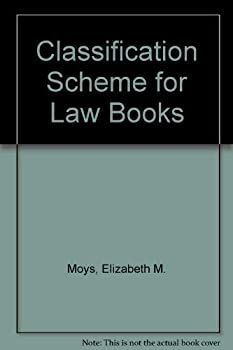 Hardcover Classification Scheme for Law Books Book