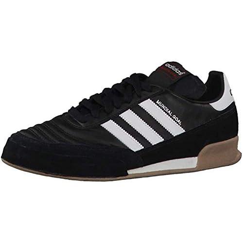 adidas Mundial Goal, Scarpe da calcio Unisex - adulto, (black1/runwhi/runwhi), 37 1/3 (4.5 uk)