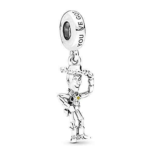 Pulseras Collar Moda Colgante Cuentas 2 Unids / lote Toy Story Capucha Cuerdas Charm Colgante Fit Pulseras Collar Fabricación de Joyas para Mujeres Accesorios de Joyería Pulseras para Mujeres Hombres