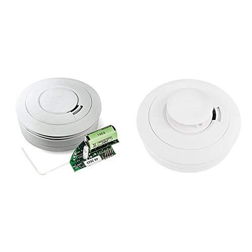 Ei Electronics Ei650RF 10-Jahres-Funkrauchmelder, 1 Stück & Ei603TYC 10-Jahres-Hitzewarnmelder, 1 Stück