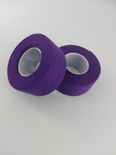 Velox Fahrrad Lenkerband Tressostar Stoff violett Lenker, 1 Paar