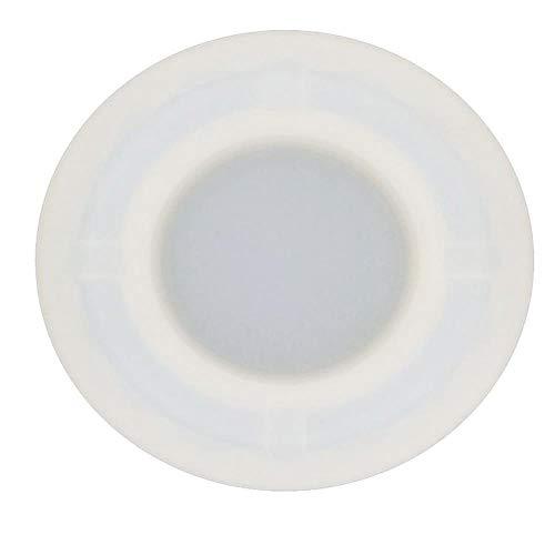 lyward 2Pcs Pequeño Prismático Cristal Epoxi Pegamento Cenicero Molde De Silicona
