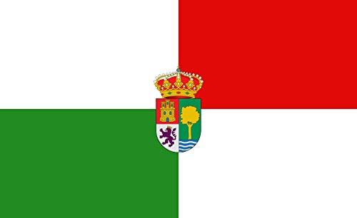 magFlags Bandera Large Santa Olalla del Cala | Santa Olalla del Cala Huelva | Bandera Paisaje | 1.35m² | 90x150cm