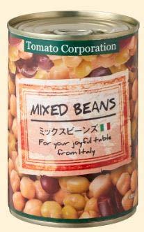 トマトコーポレーション ミックスビーンズ イタリア産 400g×48缶