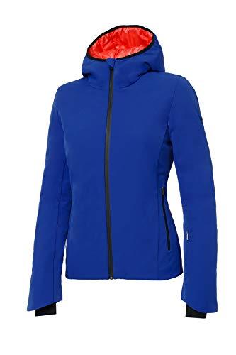 Zero RH+ Zao W, Abbigliamento Woman Snow Jacket Donna, Cobalt Blue/Nectarine, S
