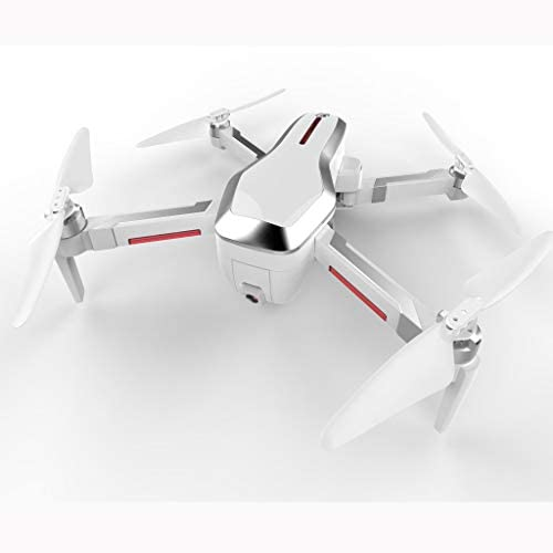 Wanshop Drohne für Kinder und Anf er, RC Drone Quadrocopter mit H -halten, Drohne mit Kamera CSJ-x7 GPS 5G WIFI FPV 4K Brushless Selfie faltbarer RC Drohne (Weiß
