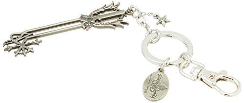 Kingdom Hearts Oathkeeper Unisex Schlüsselanhänger silberfarben Eisen, Zinklegierung Fan-Merch, Gaming