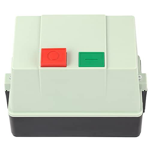 Arrancador magnético eléctrico Interruptor de arranque electromagnético con carcasa ignífuga Control de servicio pesado AC380V 25‑32A Industrial IP65