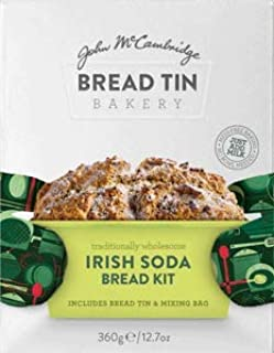 McCambridge Irish Soda Bread Mix Includes Tin (360g) Imported from Ireland