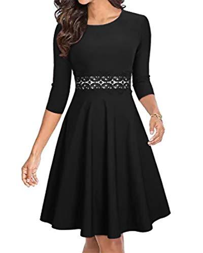 ZANZEA Vestido de Fiesta Mujer...