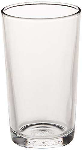 Duralex 1043AB06/6 Lot de 6 Chopes en Verre 25 cl, 8.75 Fluid_Ounces, Transparent