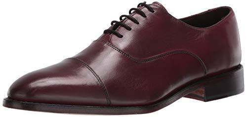Anthony Veer Men s Dress Shoe Clinton Cap-Toe Oxford Full Grain Leather Goodyear Welted (11.5 D US  Oxblood Full Grain Calfskin)