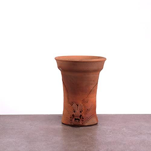 Palatina Werkstatt Elegante macetero de terracota | resistente a las heladas, decoración para...