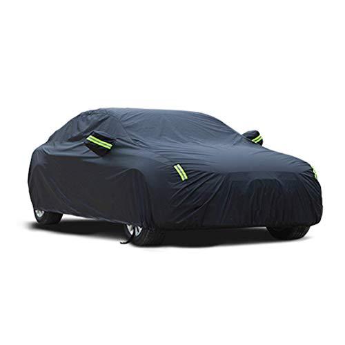 Car-Cover - Außen Volle Wasserdicht Atmungs Regen Staub Schnee UV Allwetterschutz Full Size Covers Fit Lexus IS - große Limousine Fahrzeugabdeckungen - Schwarz (Größe: Oxford Tuch - einschichtig) KaiK