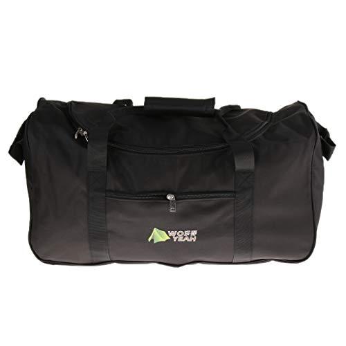 Heavy Duty Cargo Duffel, Large Sport Camp Fishing Gear Equipment Travel Bag Rooftop for Men Women - 140L