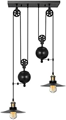 KingSo Pulley Pendant Light