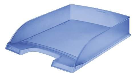 Leitz - Vaschetta portacorrispondenza A4, 5 pezzi, blu ghiaccio