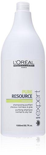 L'Oréal Professionnel Shampooing Purifiant Cheveux Normaux à Gras Pure Resource 1500 ml