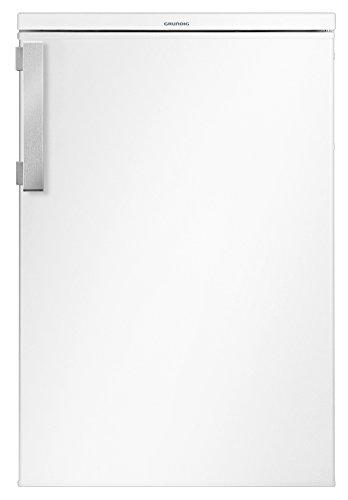 Grundig GTM 10120 Mini-Kühlschrank / A++ / 84 cm / 92 kWh/Jahr / 130 L Kühlteil / Antibakterielle Türdichtung / Unterbaufähig / Flexibler Innenraum / 3 Glasablagen und 3 Türablagen